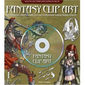 Fantasy Clip Art - CD and Book by Kevin Crossley