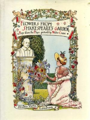 Flowers from Shakespeare's Garden by Walter Crane