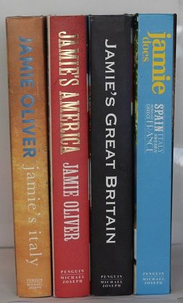 Jamie Oliver Four Book Bundle