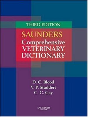 Saunders Comprehensive Veterinary Dictionary - 070202788X